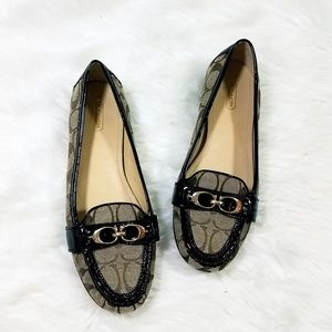 Coach Eloise Signature Loafers